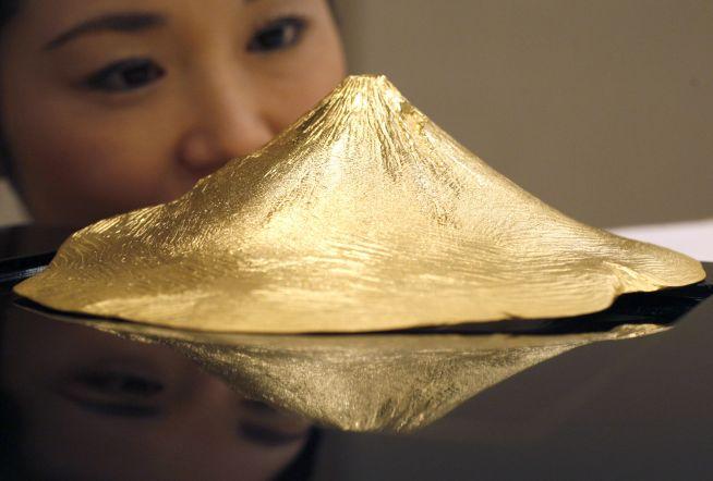 Ginza Tanaka gold mont fuji