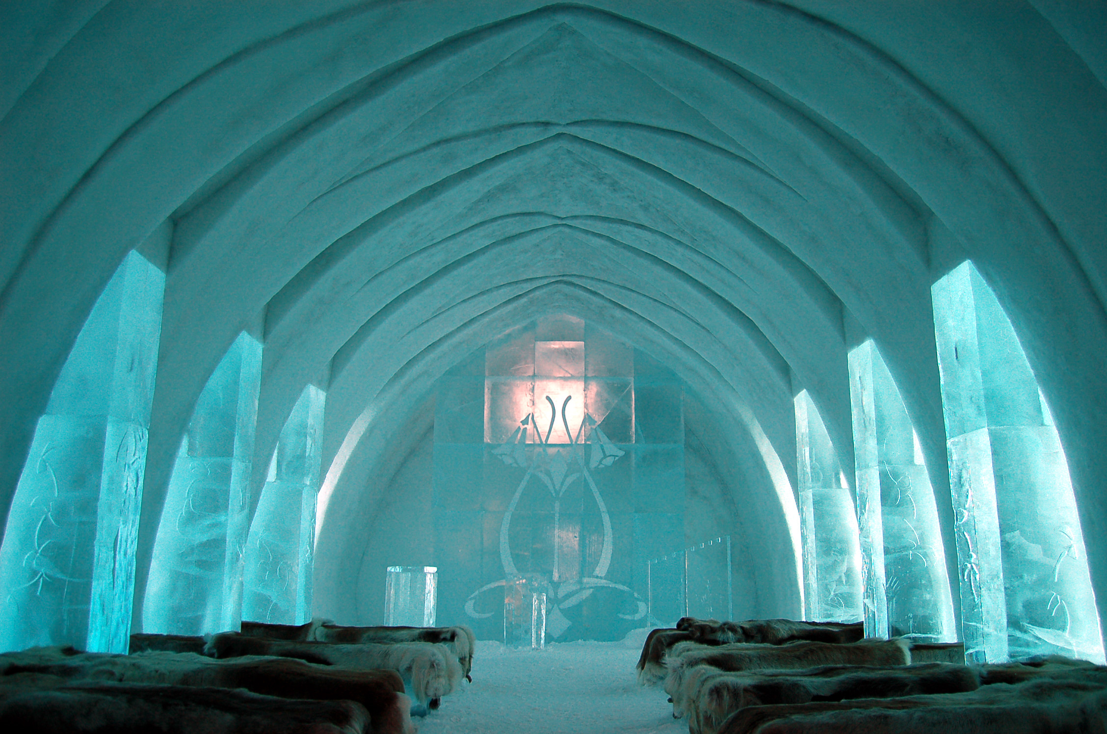 Ice Hotel Church Jukkasjärvi