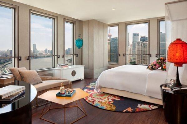 Hotel Indigo Shanghai bedroom