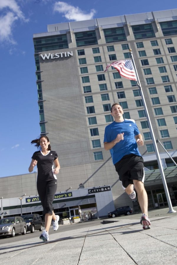 Westin partnership New Balance