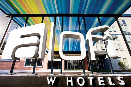 aloft hotels sign