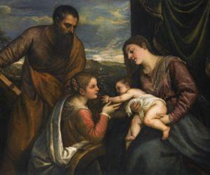 A Sacra Conversazione Titian
