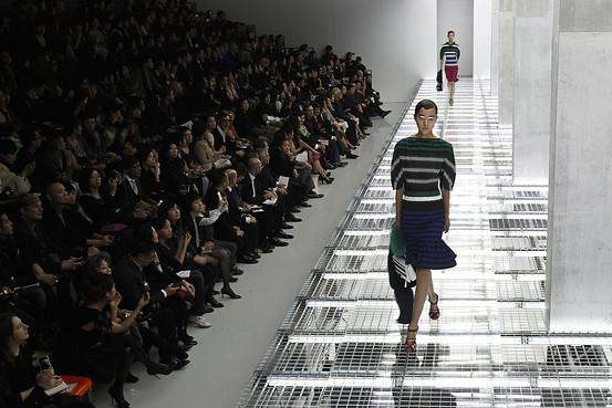 Prada fashionshow Beijing