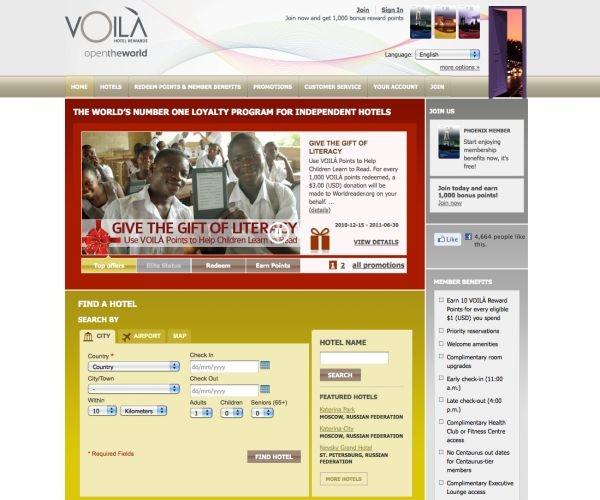 Voila hotel rewards