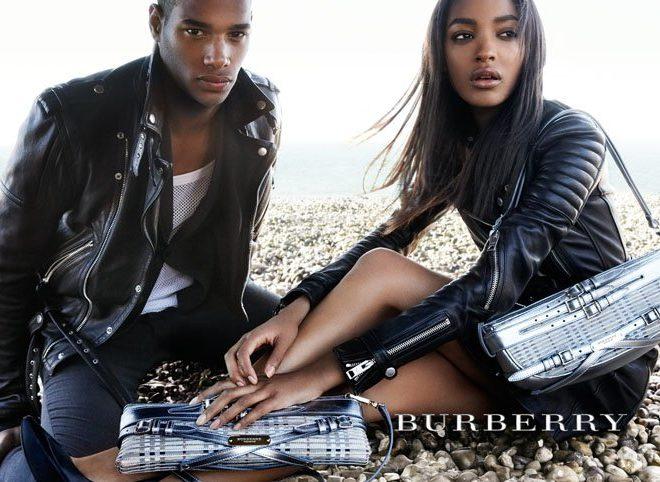 burberry ad Jourdan Dunn Sacha MBaye