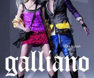 Galliano Spring 2011 campaign