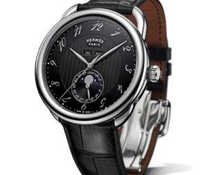 Hermes Arceau Grand Lune watch