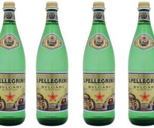 san pellegrino bulgari bottle
