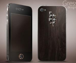 Gresso iPhone4 Black Diamonds for Lady