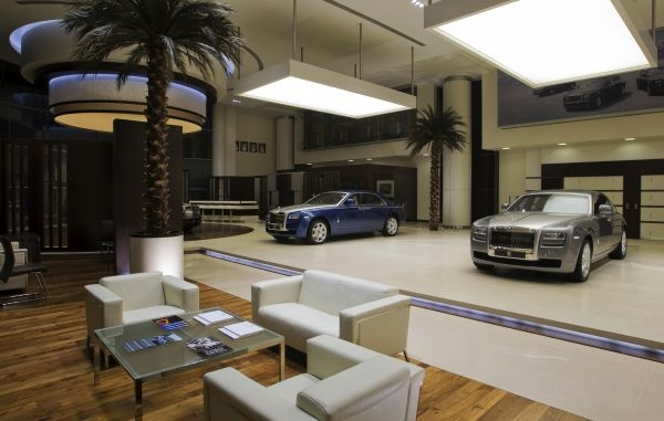 Showroom Rolls-Royce Abu Dhabi