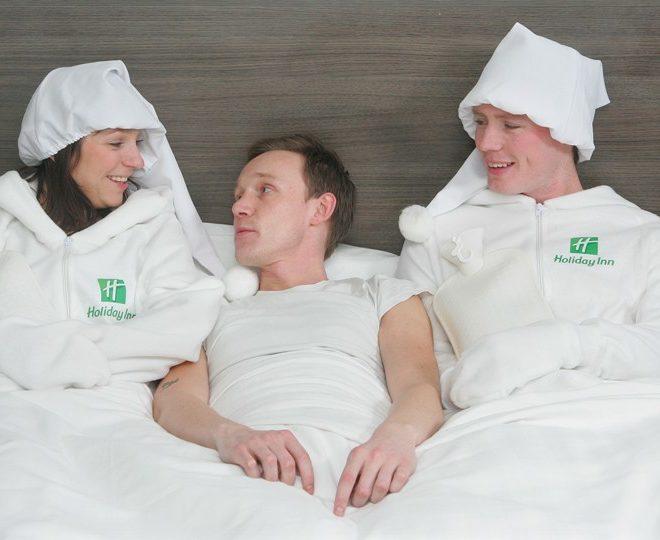 human bed warmer Holiday Inn