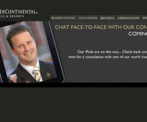 intercontinental facetime