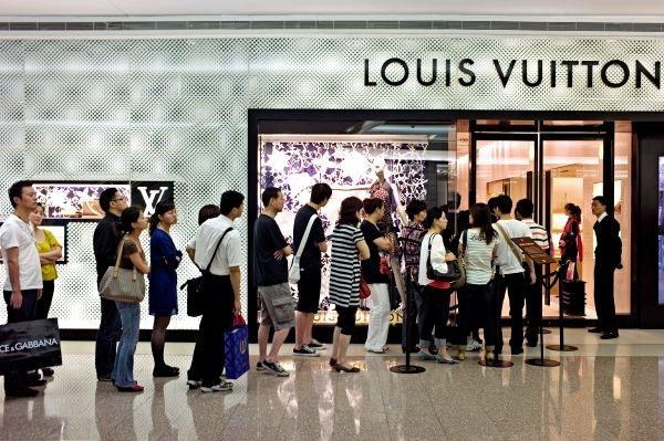 Louis Vuitton store shanghai