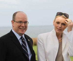 Prince Albert II of Monaco Charlene Wittstock