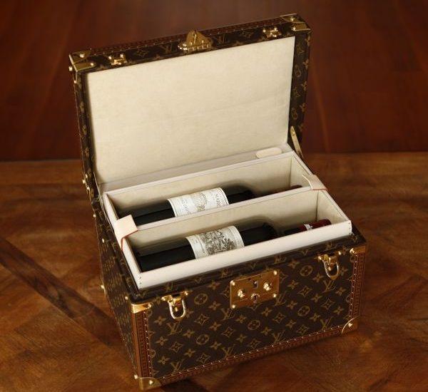 Louis Vuitton wine travel case