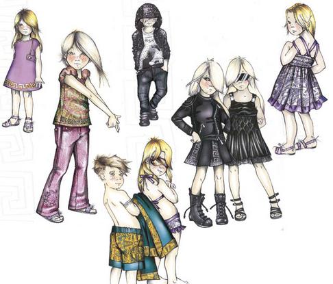 Versace Kids Fashion Line