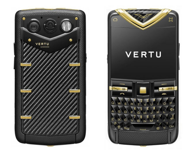 Vertu Constellation Quest Carbon Fibre 18-Karat Gold