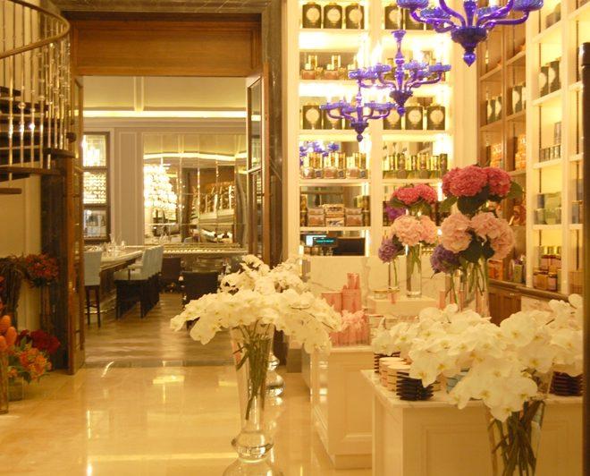 Harrods shop The Corinthia Hotel London