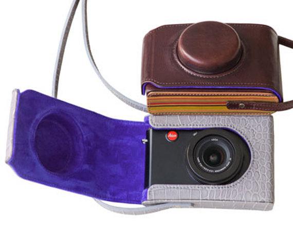 Paul Smith Leica leather case