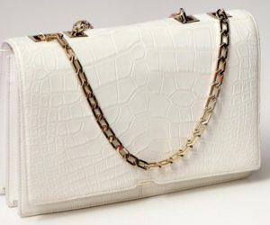 crocodile skin bag