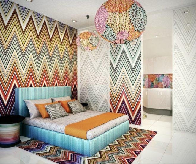 missoni bedroom