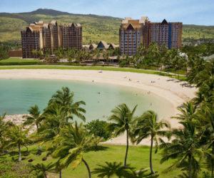 Aulani Resort beach