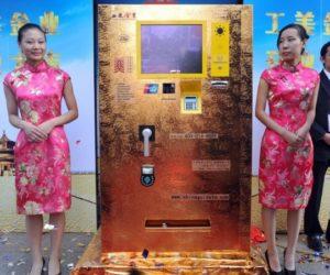 Beijing gold vending machine