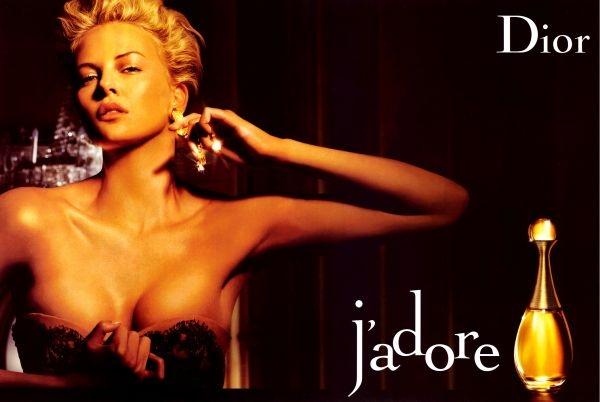 Charlize Theron Jadore Dior ad