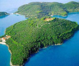 Private island Skorpios