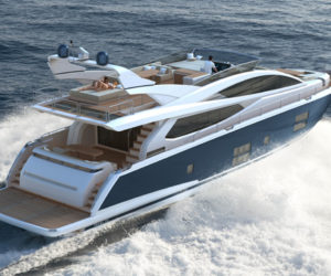 Pearl 75 motor yacht