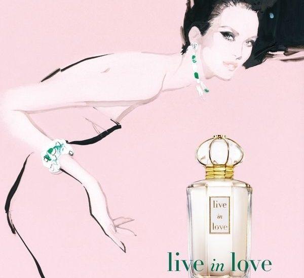 Live in Love Oscar de la Renta