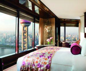 Ritz Carlton Shanghai Pudong room