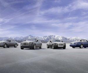 Rolls-Royce model range