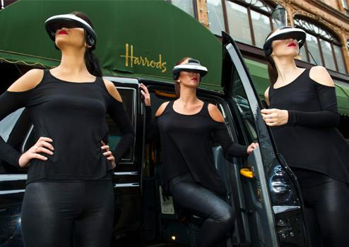 Sony 3D Viewer Harrods