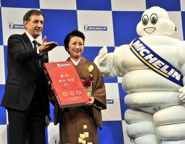 Bernard Delmas Tokyo Michelin 2012