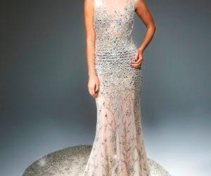 Crystal Christmas dress
