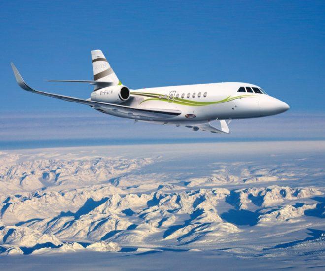 dassault falcon 2000s business jet