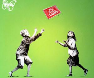 Banksy no ball games
