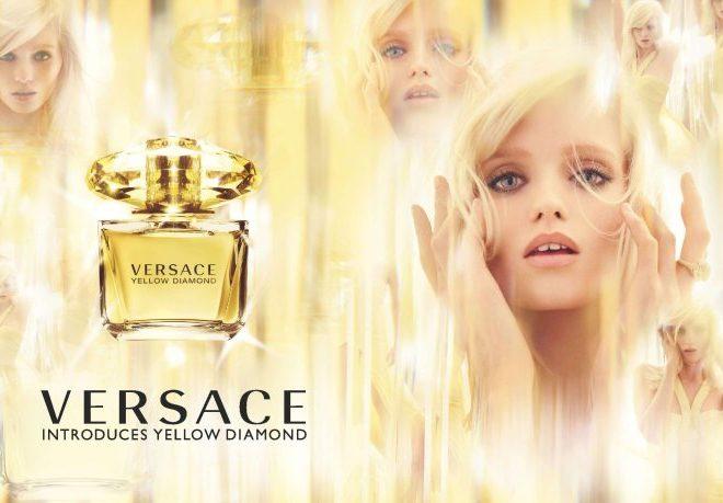 Versace Yellow Diamond Fragrance ad