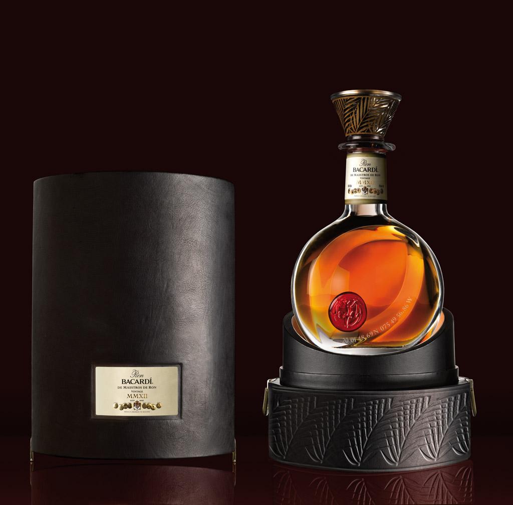 Bacardi 150th Anniversary bottle