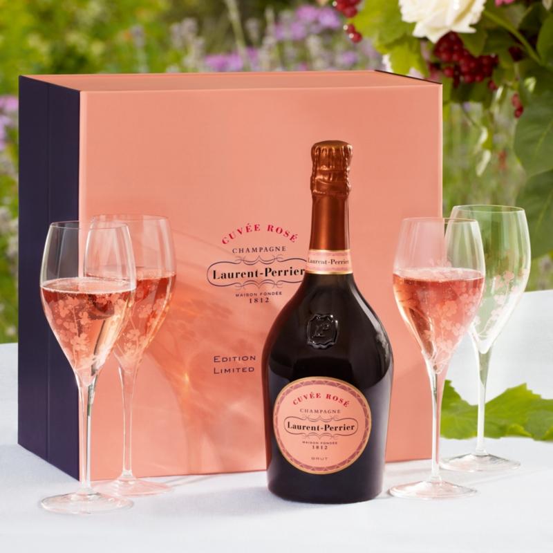 Laurent Perrier Cuvee Rose Gift Set