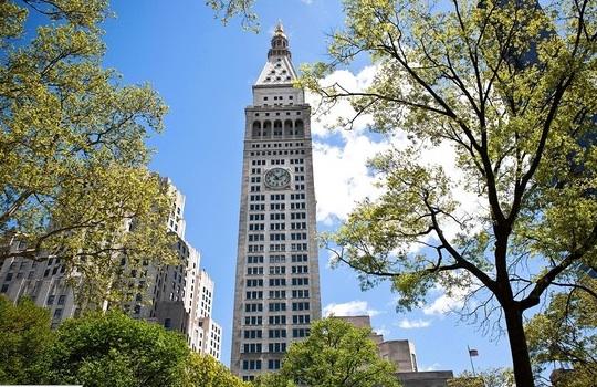 New York Clock Tower building