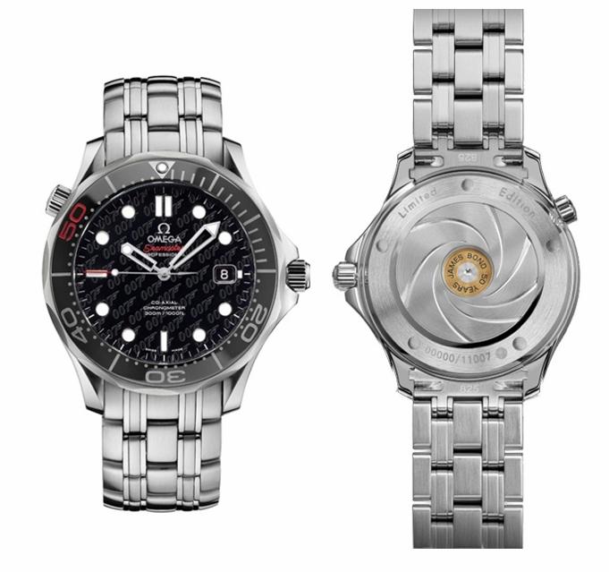 Omega Seamaster James Bond Watch