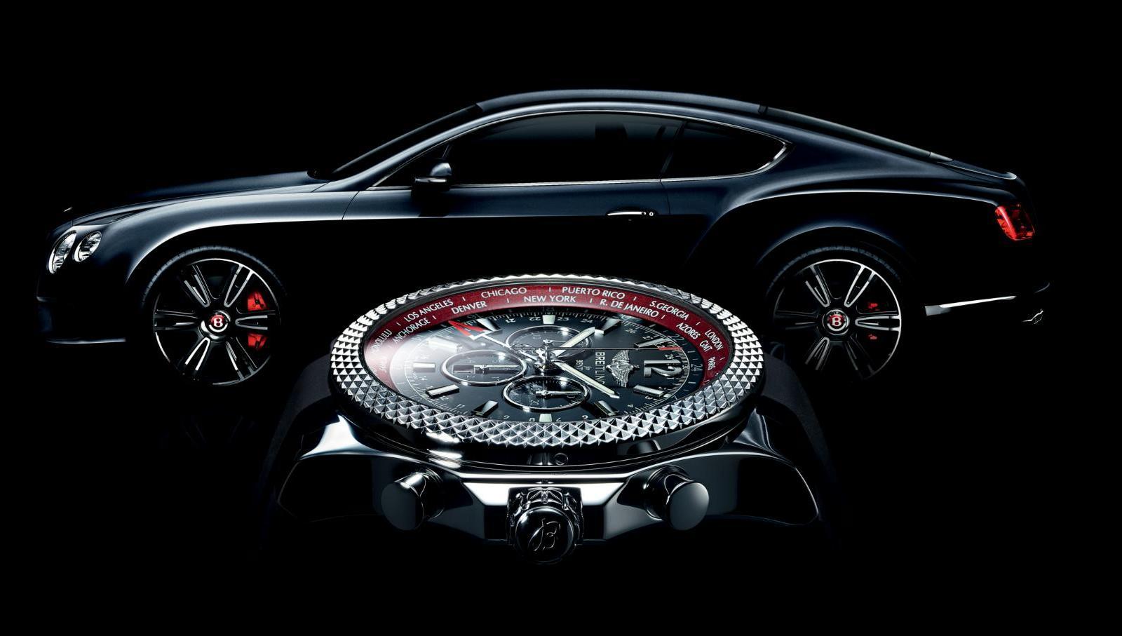 Breitling for Bentley GMT V8