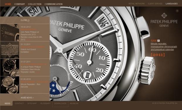 Patek Philippe Website