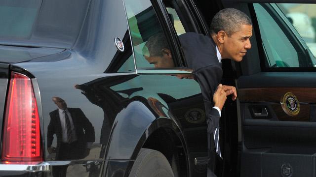 president obama car
