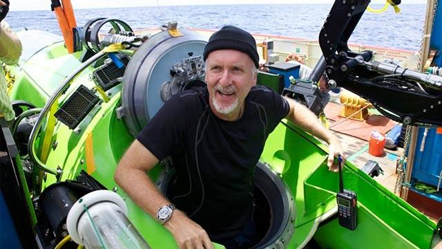 James Cameron submarine