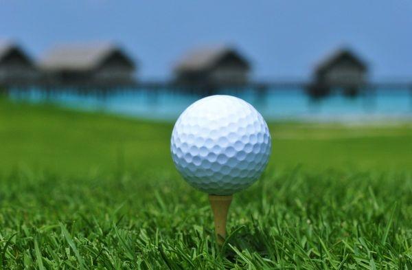 Maldives golf course