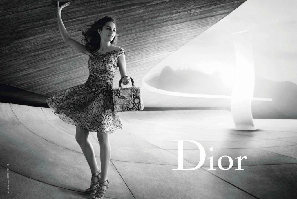 Marion Cotillard Peter Lindbergh Lady Dior Handbags