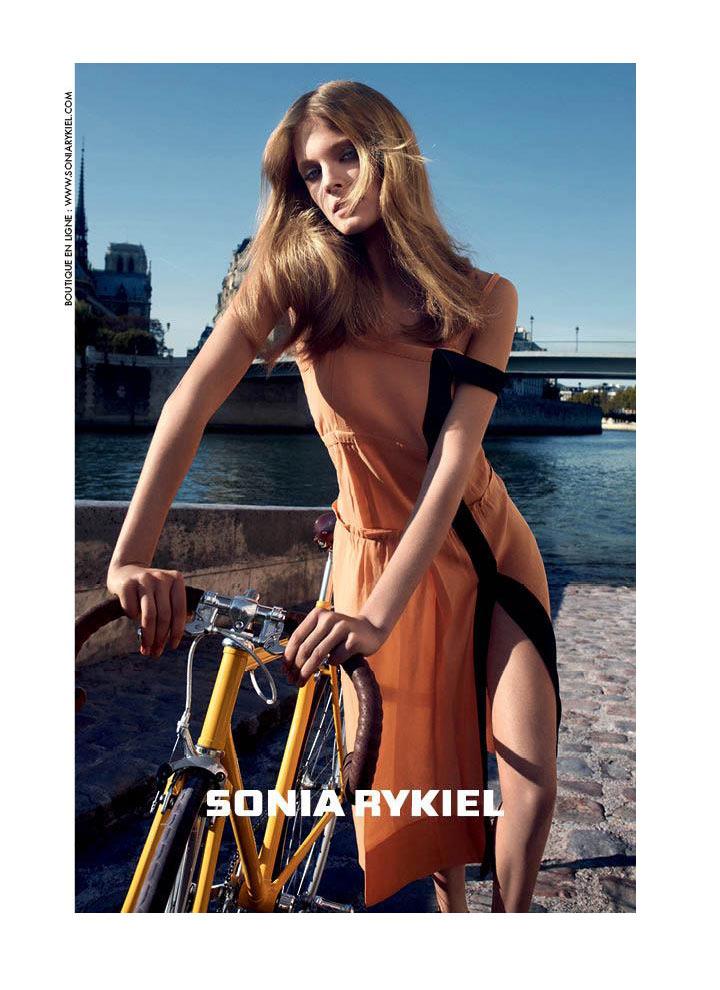Constance Jablonski for Sonia Rykiel Spring 2012 Campaign by Cédric Buchet